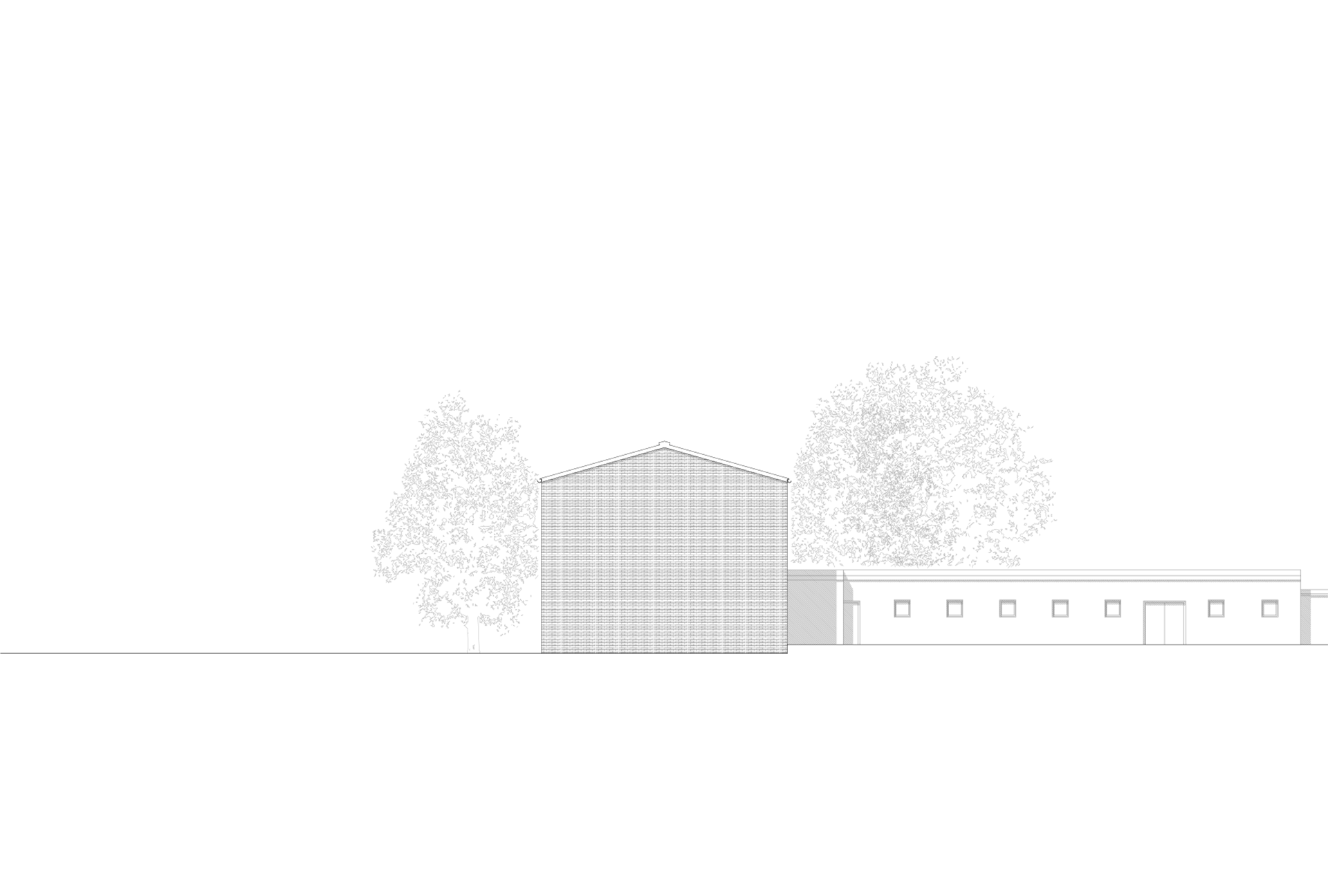 Trauerhalle Friedhof Mülheim